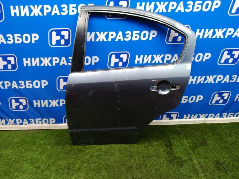Дверь Suzuki Sx4 задняя левая (б/у)
