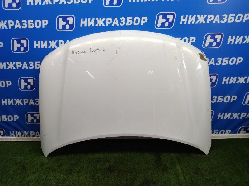 Капот Nissan Patrol Y62 передний (б/у)