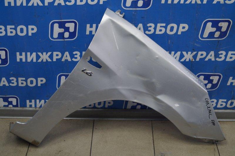 Крыло Hyundai Solaris 1 2010 переднее правое (б/у)