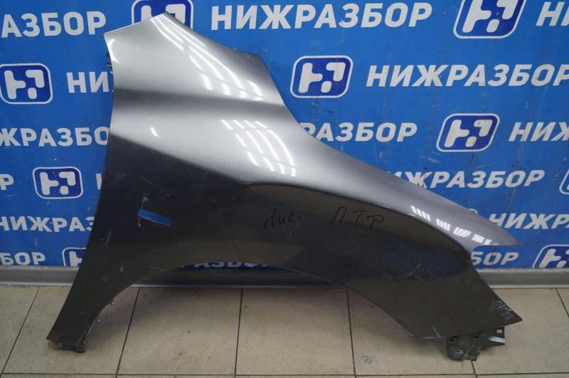 Крыло Nissan Pathfinder R52 2014> переднее правое (б/у)