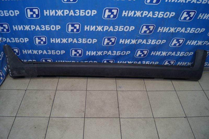 Накладка на порог (наружная) Volvo Xc 70 2007 правая (б/у)