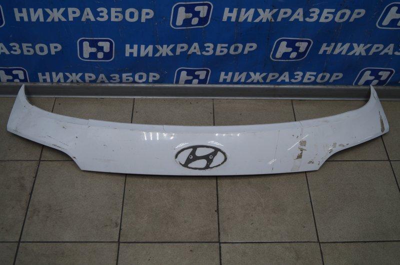 Накладка двери багажника Hyundai Santa Fe DM 2012 (б/у)