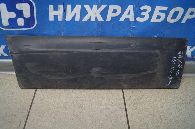 Накладка двери Nissan Qashqai J10 2006 задняя правая (б/у)