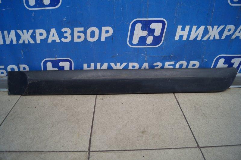 Молдинг двери Lada Largus 2012> задний левый (б/у)