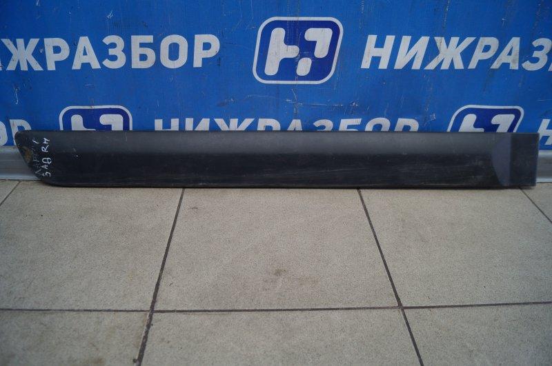 Молдинг двери Lada Largus 2012> задний правый (б/у)