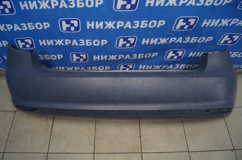 Бампер Skoda Fabia 2 2007 задний (б/у)