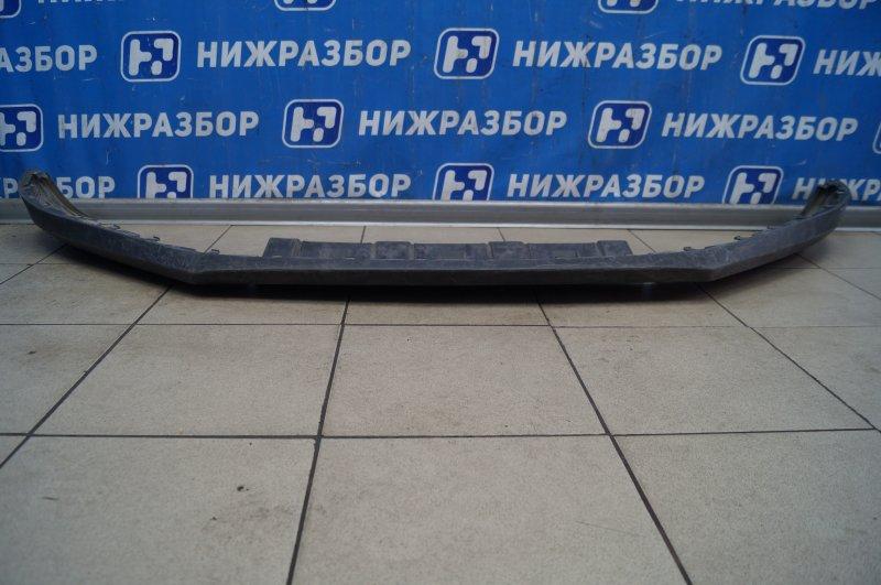 Спойлер бампера Volkswagen Tiguan 2011 передний (б/у)