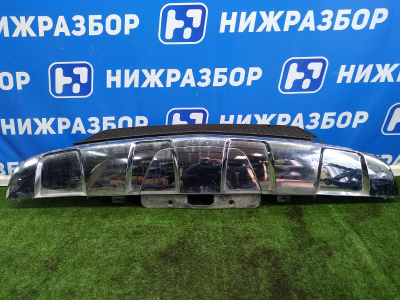 Накладка бампера Mercedes Gl-Class задняя (б/у)