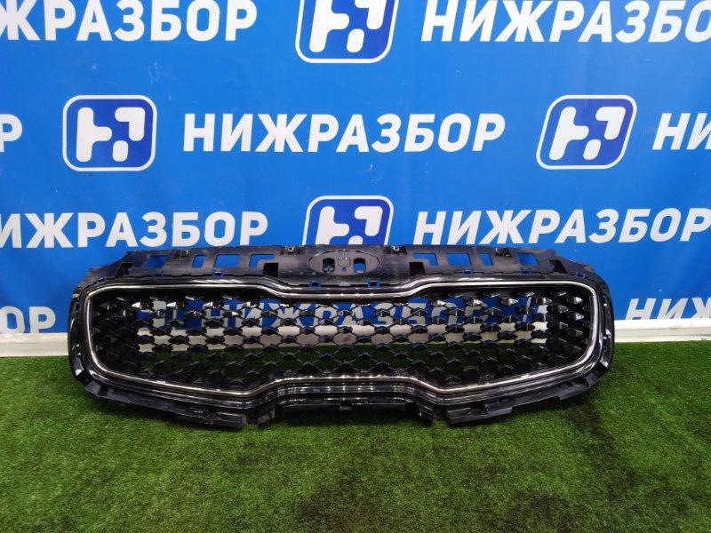 Решетка радиатора Kia Sportage 4 передняя (б/у)