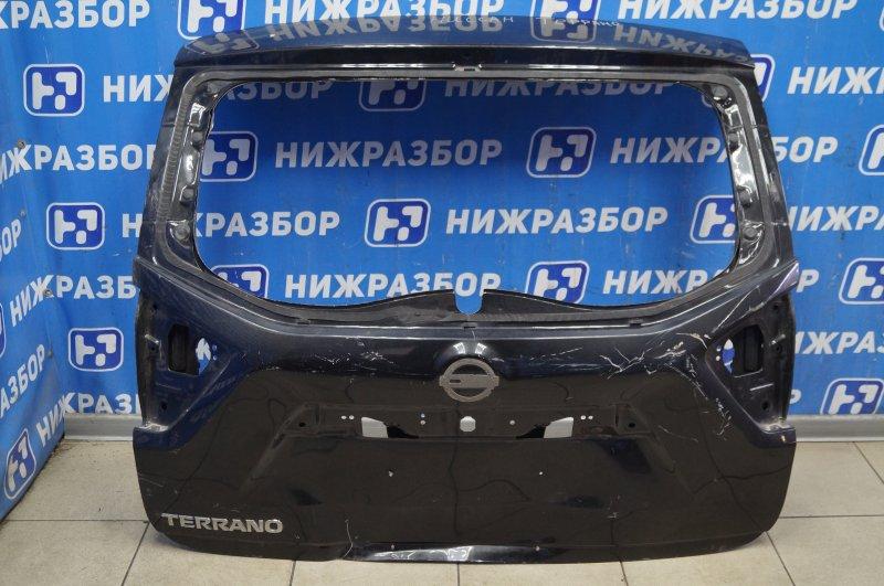 Дверь багажника Nissan Terrano 3 D10 2014> (б/у)