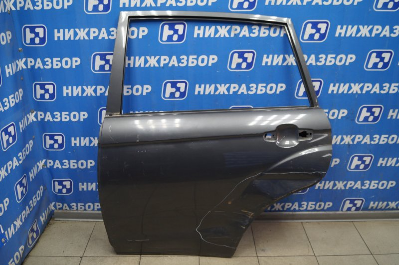 Дверь Lifan X60 2012> задняя левая (б/у)