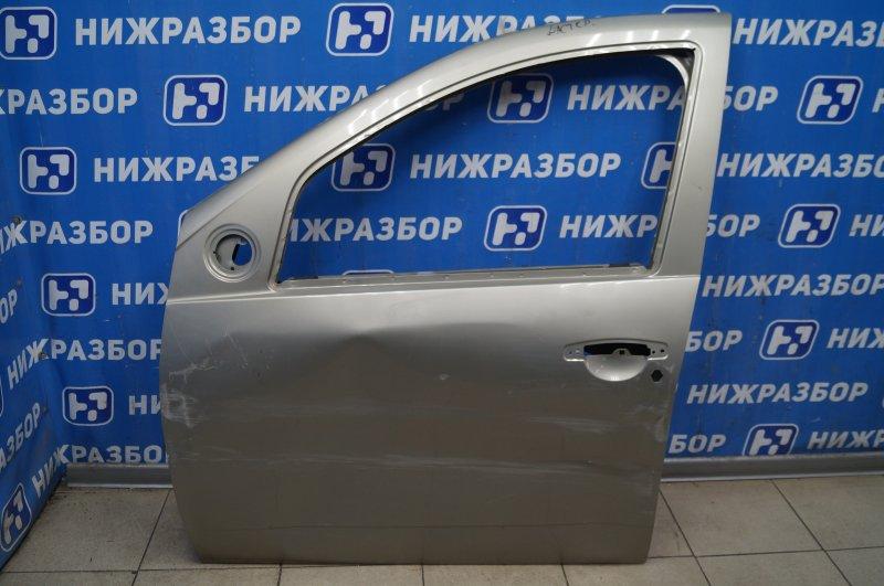 Дверь Renault Duster 2012> передняя левая (б/у)