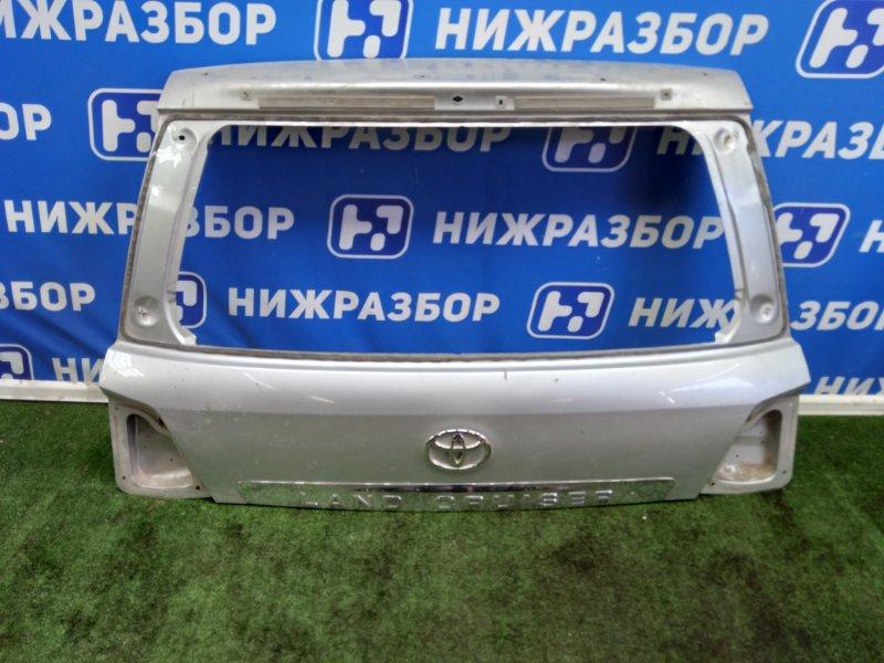 Крышка багажника Toyota Land Cruiser 200 задняя (б/у)