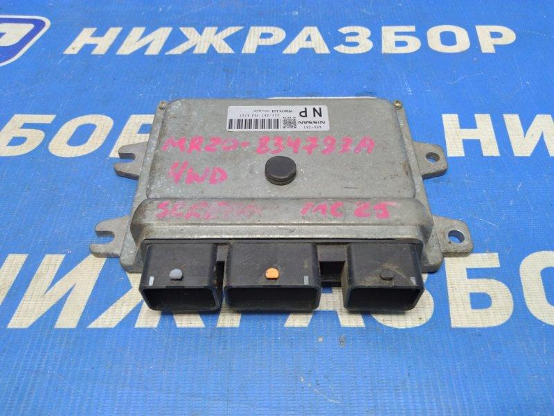 Блок управления двигателем Nissan Serena (б/у)