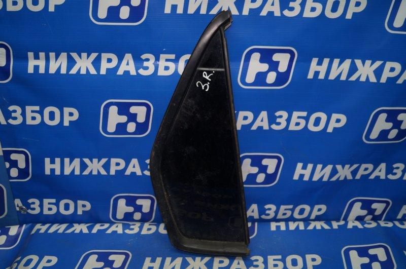 Форточка двери Honda Cr-V 2 2.0 (K20A4) 1007182 2002 задняя правая (б/у)