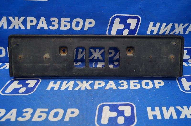Накладка бампера под номер Honda Cr-V 2 2.0 (K20A4) 1007182 2002 задняя (б/у)