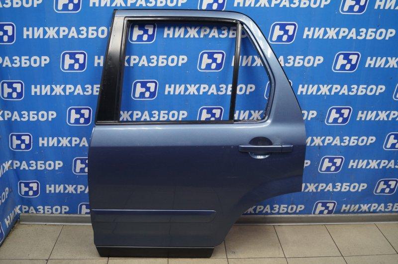 Дверь Honda Cr-V 2 2.0 (K20A4) 1007182 2002 задняя левая (б/у)