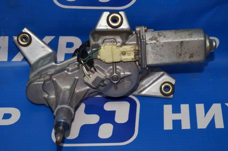 Моторчик стеклоочистителя Honda Cr-V 2 2.0 (K20A4) 1007182 2002 задний (б/у)