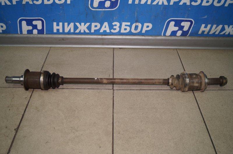 Привод Honda Cr-V 2 2.0 (K20A4) 1007182 2002 задний правый (б/у)