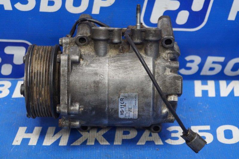Компрессор кондиционера Honda Cr-V 2 2.0 (K20A4) 1007182 2002 (б/у)