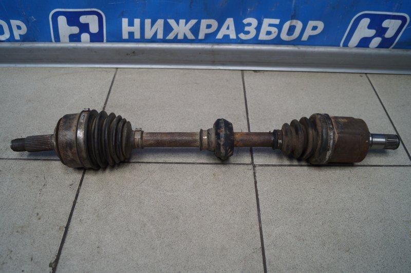 Привод Honda Cr-V 2 2.0 (K20A4) 1007182 2002 передний левый (б/у)