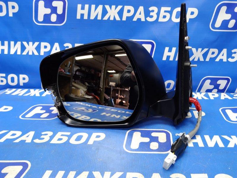 Зеркало электрическое Toyota Land Cruiser 200 переднее левое (б/у)