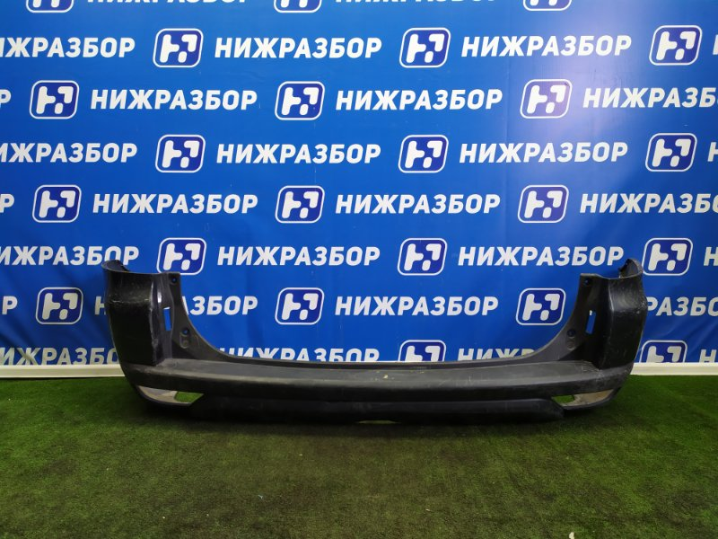 Бампер Mitsubishi Pajero Sport 2 задний (б/у)