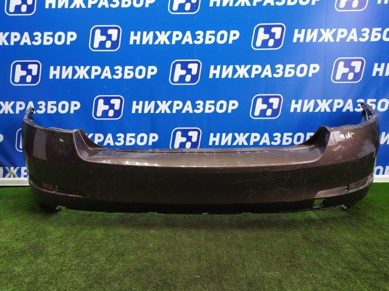 Бампер Skoda Octavia А7 задний (б/у)