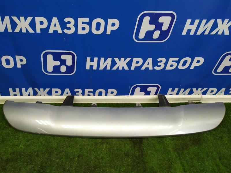 Накладка бампера Toyota Rav 4 задняя (б/у)