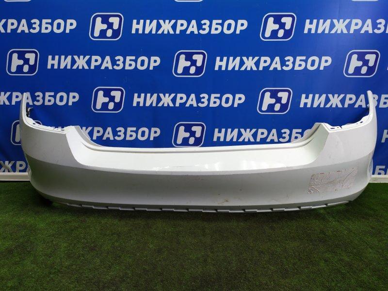 Бампер Skoda Rapid задний (б/у)