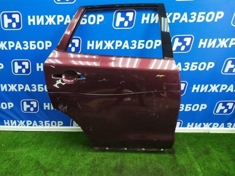 Дверь Nissan Murano Z51 задняя правая (б/у)