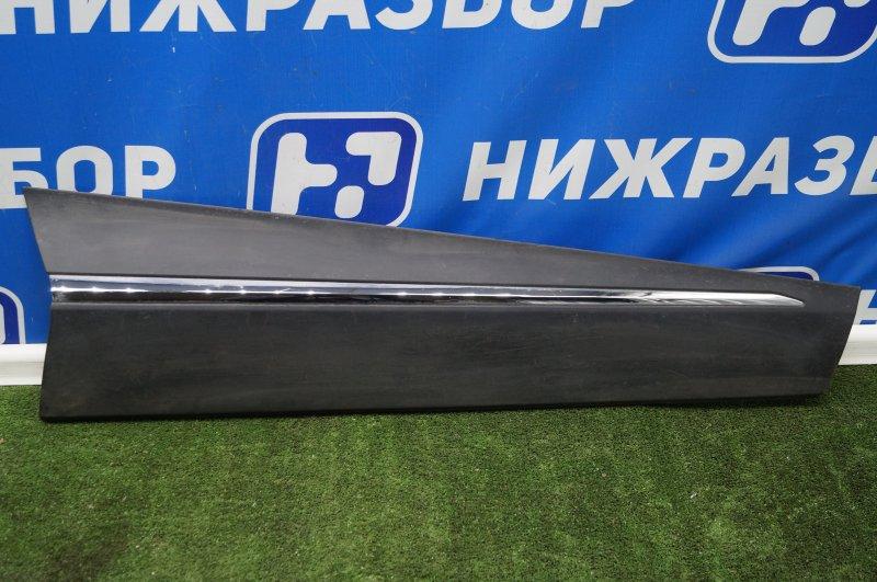 Накладка двери Renault Kaptur 1.6 (H4M438) P098012 2019 передняя правая (б/у)