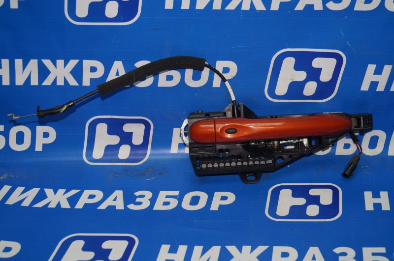 Ручка двери наружная Renault Kaptur 1.6 (H4M438) P098012 2019 передняя правая (б/у)