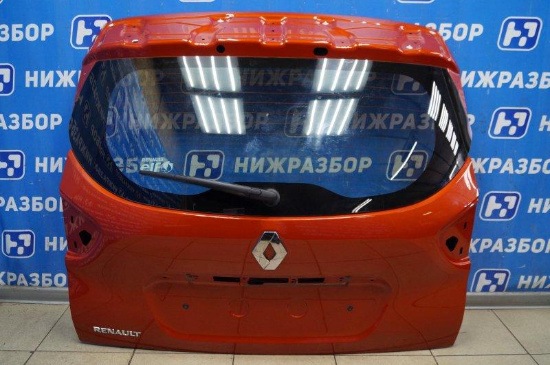 Дверь багажника Renault Kaptur 1.6 (H4M438) P098012 2019 (б/у)