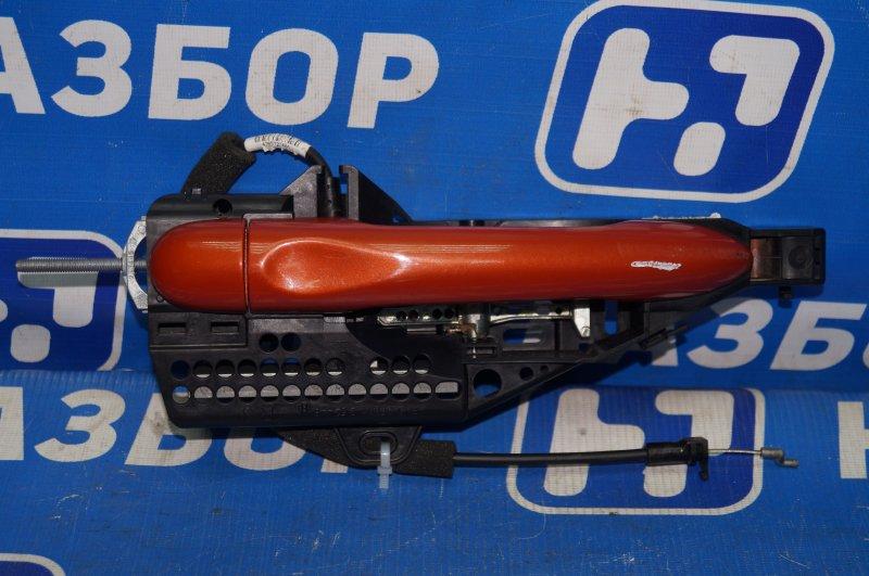 Ручка двери наружная Renault Kaptur 1.6 (H4M438) P098012 2019 задняя правая (б/у)