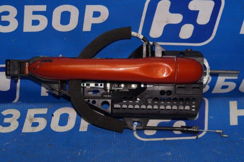 Ручка двери наружная Renault Kaptur 1.6 (H4M438) P098012 2019 задняя левая (б/у)