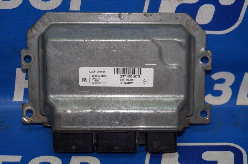 Блок управления двигателем Renault Kaptur 1.6 (H4M438) P098012 2019 (б/у)