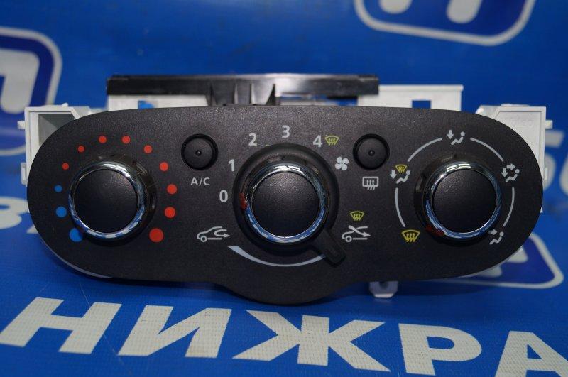 Блок управления отопителем Renault Kaptur 1.6 (H4M438) P098012 2019 (б/у)