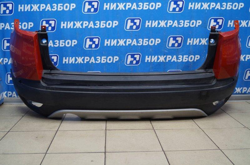 Бампер Renault Kaptur 1.6 (H4M438) P098012 2019 задний (б/у)