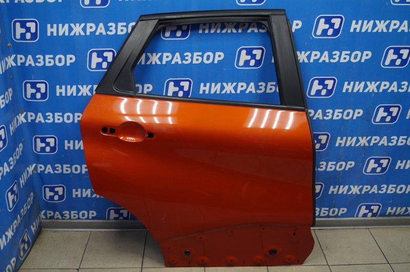 Дверь Renault Kaptur 1.6 (H4M438) P098012 2019 задняя правая (б/у)