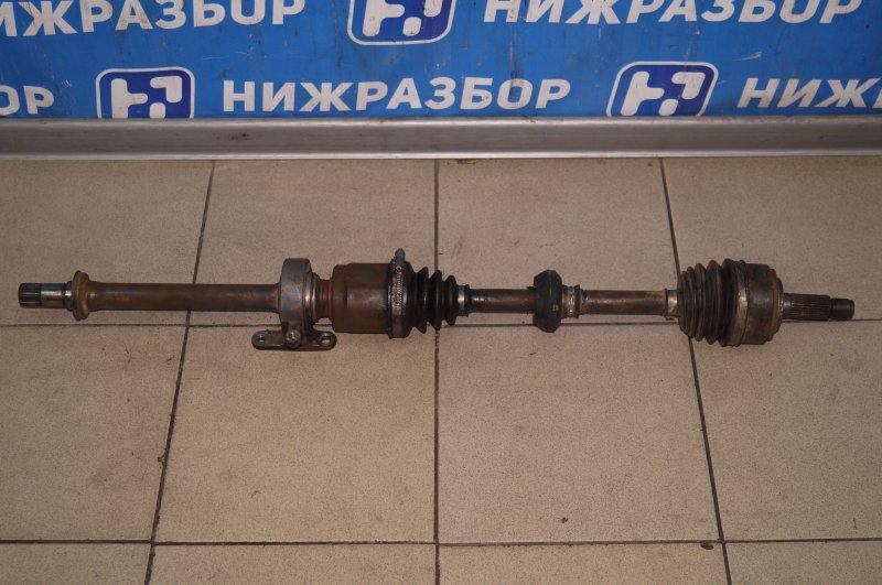 Привод Honda Cr-V 2 2.0 (K20A4) 1007182 2002 передний правый (б/у)