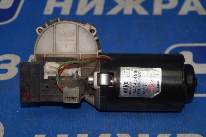 Моторчик стеклоочистителя Fiat Albea 1.4 (350A1000) 4594700 2008 передний (б/у)