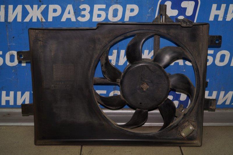 Вентилятор радиатора Fiat Albea 1.4 (350A1000) 4594700 2008 (б/у)
