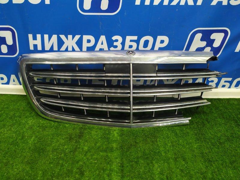 Решетка радиатора Mercedes S-Class W222 передняя (б/у)