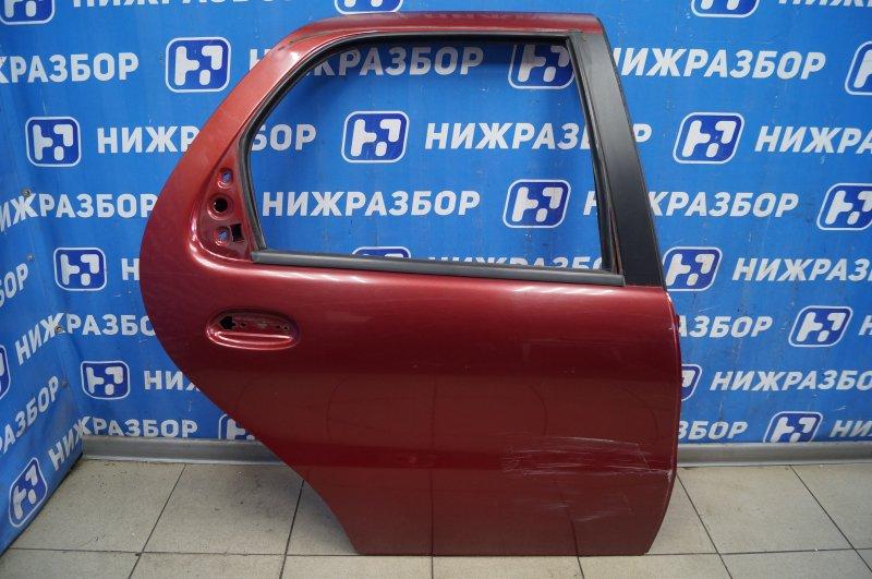 Дверь Fiat Albea 1.4 (350A1000) 4594700 2008 задняя правая (б/у)
