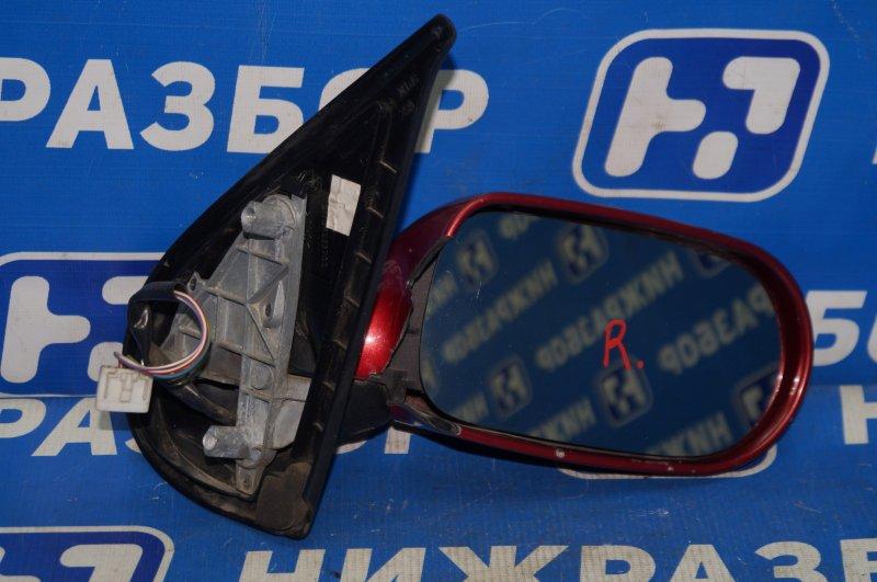 Зеркало электрическое Fiat Albea 1.4 (350A1000) 4594700 2008 правое (б/у)
