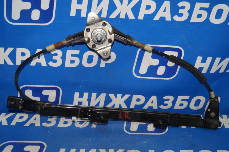 Стеклоподъемник мех. Fiat Albea 1.4 (350A1000) 4594700 2008 задний правый (б/у)
