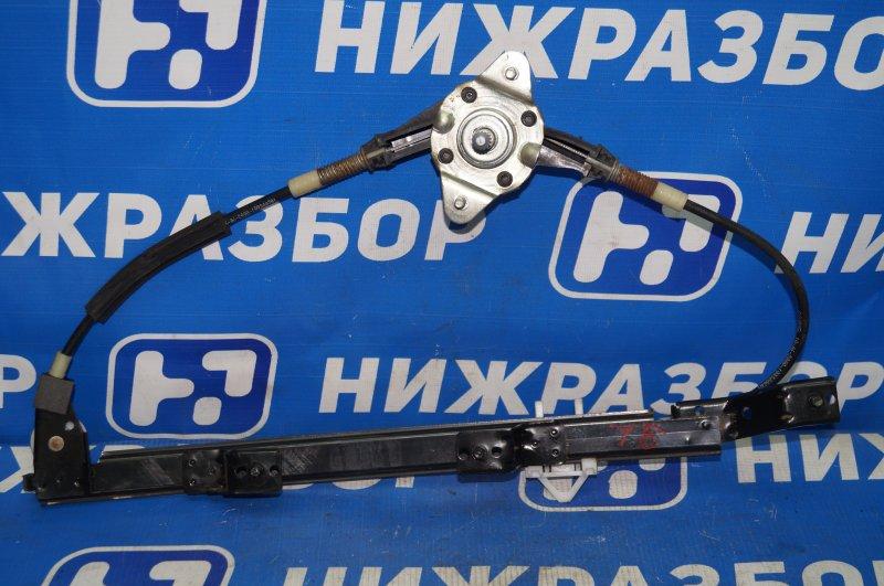 Стеклоподъемник мех. Fiat Albea 1.4 (350A1000) 4594700 2008 задний левый (б/у)