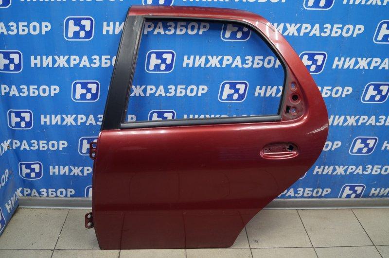 Дверь Fiat Albea 1.4 (350A1000) 4594700 2008 задняя левая (б/у)