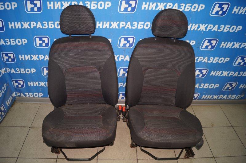 Сиденья к-кт Fiat Albea 1.4 (350A1000) 4594700 2008 передняя (б/у)